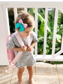 Wunderkin Bow/ Old Navy Dress