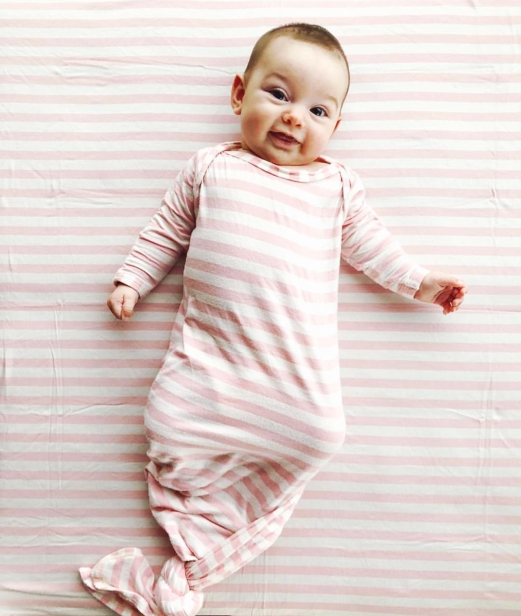 Candy Kirby Gown and blanket