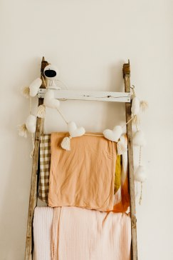 Swaddle Ladder | Klos + Co Nursery Reveal