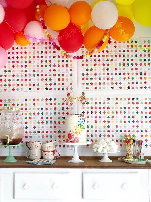 Ideas cumpleaños arco iris