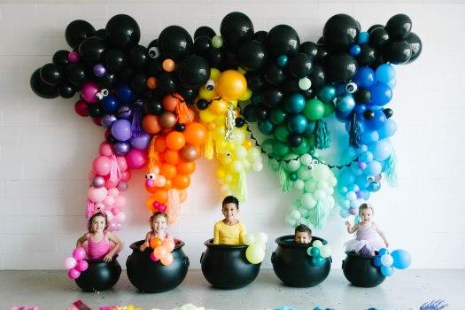 Rainbow Halloween House of Fete_2689